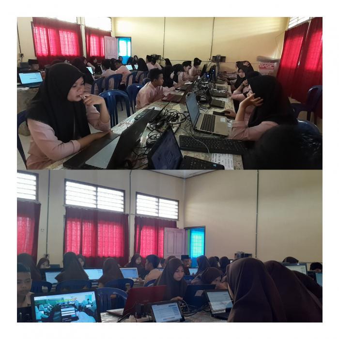 Gladi Bersih Ujian Madrasah Berstandar Nasional-Basis Komputer