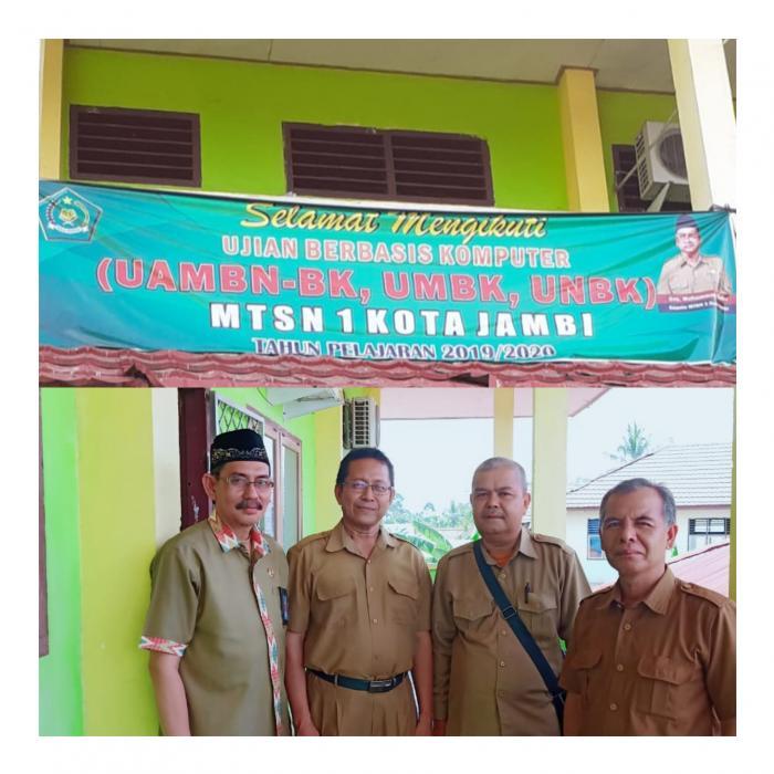 Pelaksanaan UAMBN BK di MTsN 1 Kota Jambi